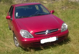 Xsara 1.6 16v Exclusive de 2001 Rouge lucifer