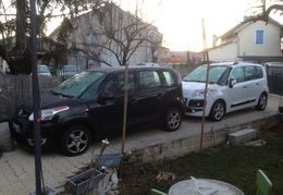 C3 picasso hdi 90 confort noir /2011 et C3 picasso exclusive black pack blanc hdi 110/2012