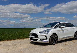 DS5 Hybrid4 Sport Chic cuir club bicolore/2013