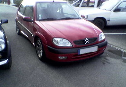 Saxo VTS 8S / Rouge Ardent / 2000