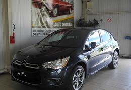 DS4 Sport Chic HDI 163 CH BVA Bleu Bourrasque E-Myway, Roue Galette/2013